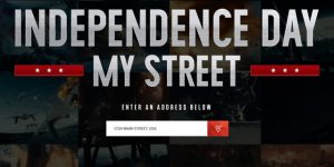 """""""Independence Day"""" For Any Street Address"""