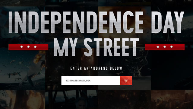 """Independence Day"" For Any Street Address"
