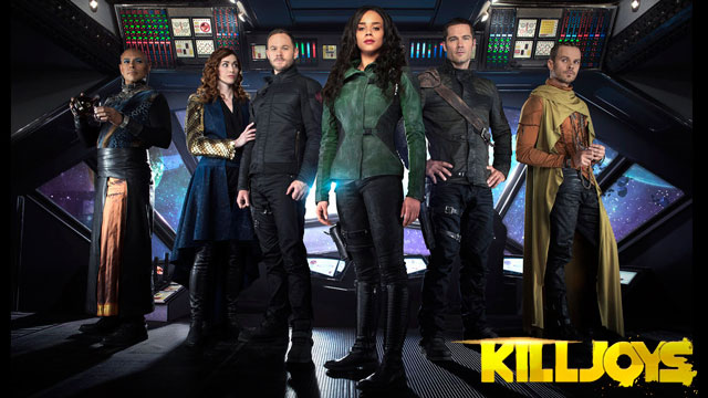 Killjoys S2 cast