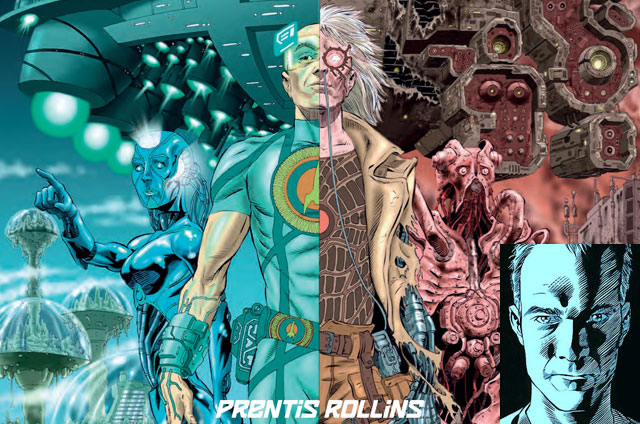 Prentis Rollins: Illustrating Sci-Fi Visions Encouraging the art for the future worlds of our scifi imaginations