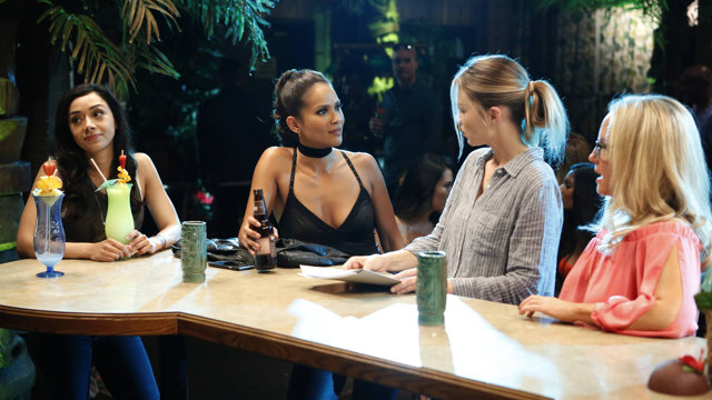 "LUCIFER: L-R: Aimee Garcia, Lesley-Ann Brandt, Lauren German and Rachael Harris in the ""Lady Parts"" episode of LUCIFER airing on FOX.  ©2016 Fox Broadcasting Co. Cr: Bettina Strauss/FOX."