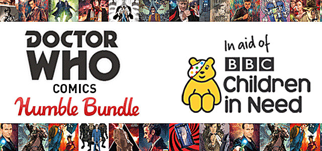 "Titan Comics: ""Doctor Who"" Humble Bundle"