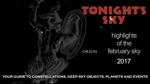 Tonight's Sky: February 2017