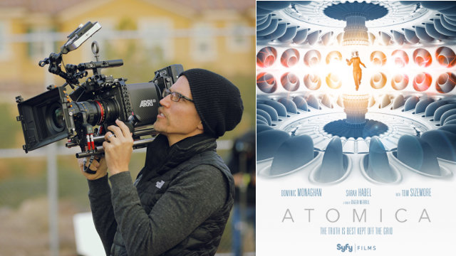 "Dagen Merrill on Making ""Atomica"" Filming the new Syfy Films title took a literal deep dive"