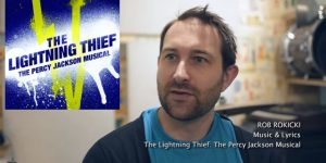 "<span class=""entry-title-primary"">""The Lightning Thief"": Rob Rokicki Melds Music & Story</span> <span class=""entry-subtitle"">Good things happen when real fans are involved in creative adaptations</span>"