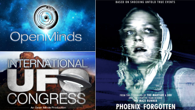"UFO Facts & Fictions with Alejandro Rojas of Open Minds Radio ""Phoenix Forgotten"" is just the most recent film to feature a real world UFO event"