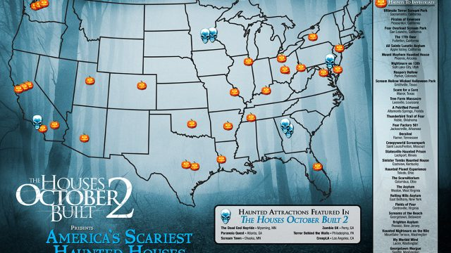 Scariest Haunted Houses