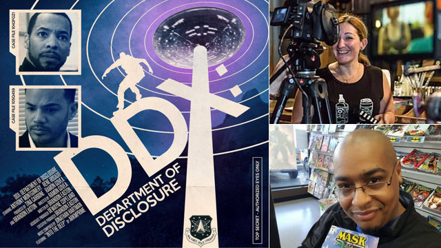 "Indie Shorts: ""DDX: Department of Disclosure"" Talking with filmmakers Brandon Easton & Tina Carbone about getting things done"