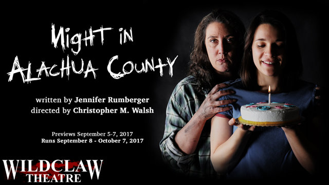 "Horror On Stage: ""Night in Alachua County"" Bringing horror to life, with live audiences"