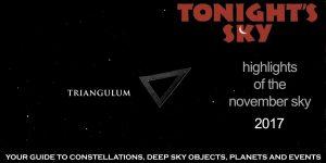 Tonight's Sky: November 2017