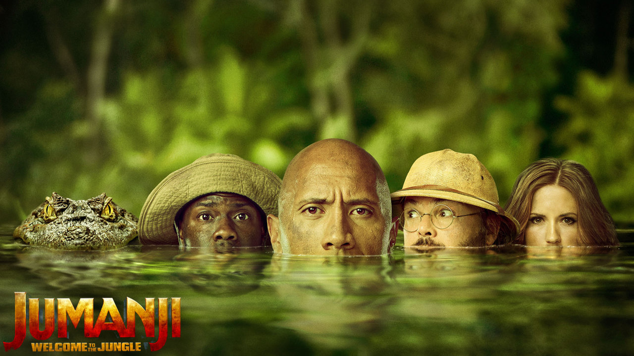 """Jumanji: Welcome to the Jungle"": A Fresh, Funny Update"