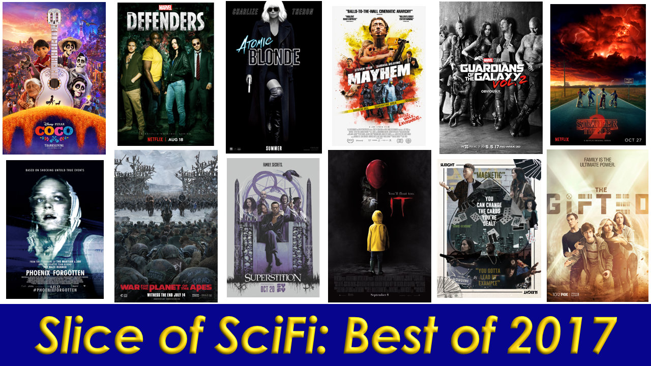 Slice of SciFi: Best of 2017