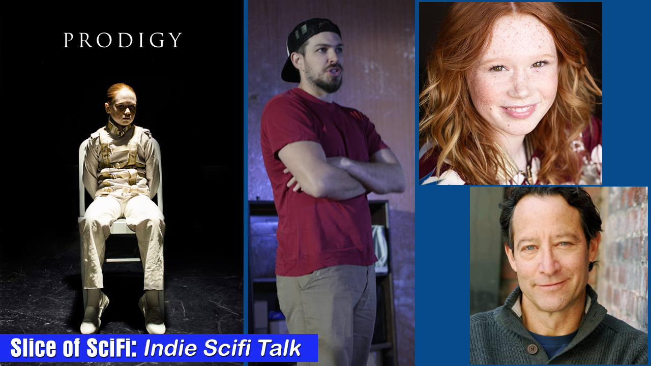 "Indie Talk: Scifi Thriller ""Prodigy"" Director Alex Haughey, actors Richard Neil and Savannah Liles talk about their project"