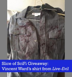 Raffle: Vincent Ward Bloody Police Shirt