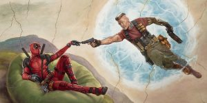 """Deadpool 2"" Shoots for Zany Level 11, and Scores"