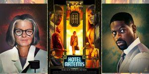 """Hotel Artemis"" offers splendid lodgings"