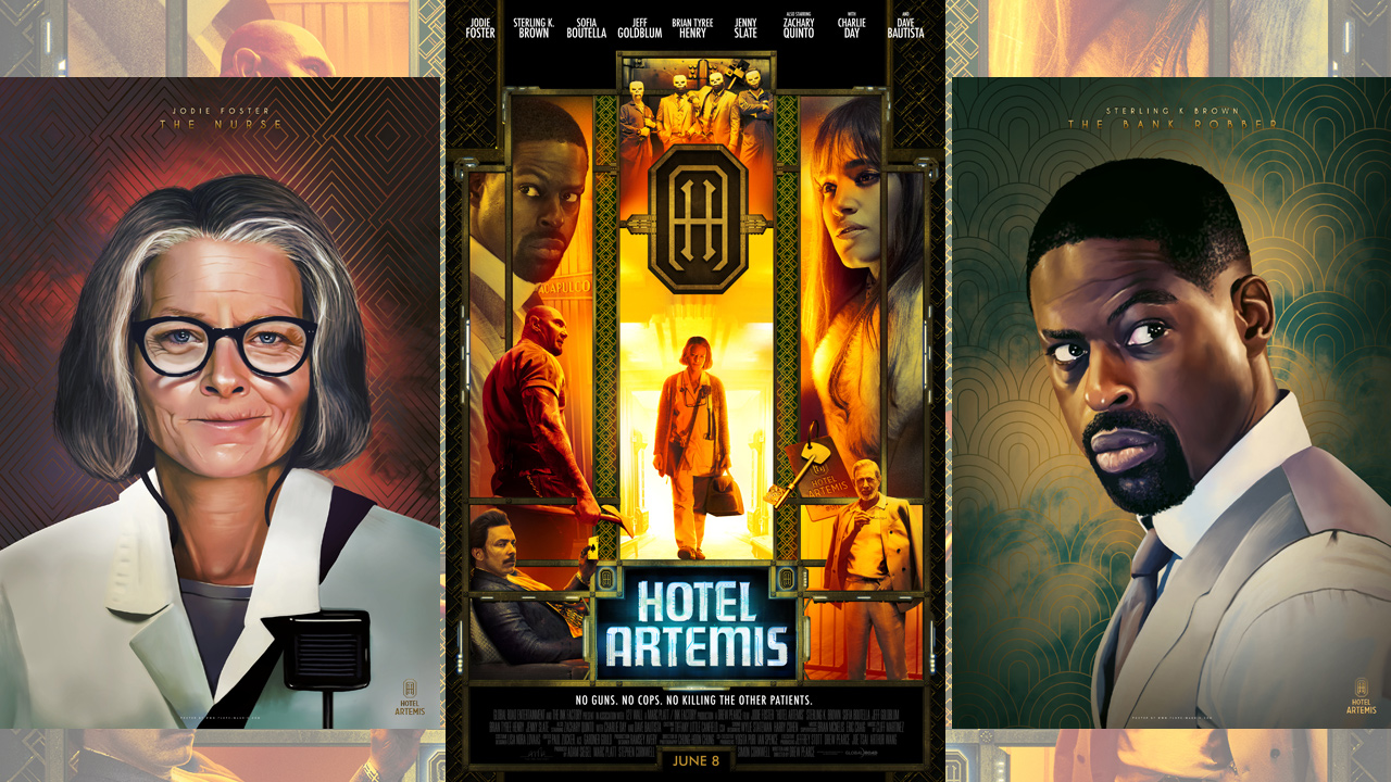 """Hotel Artemis"" offers splendid lodgings"