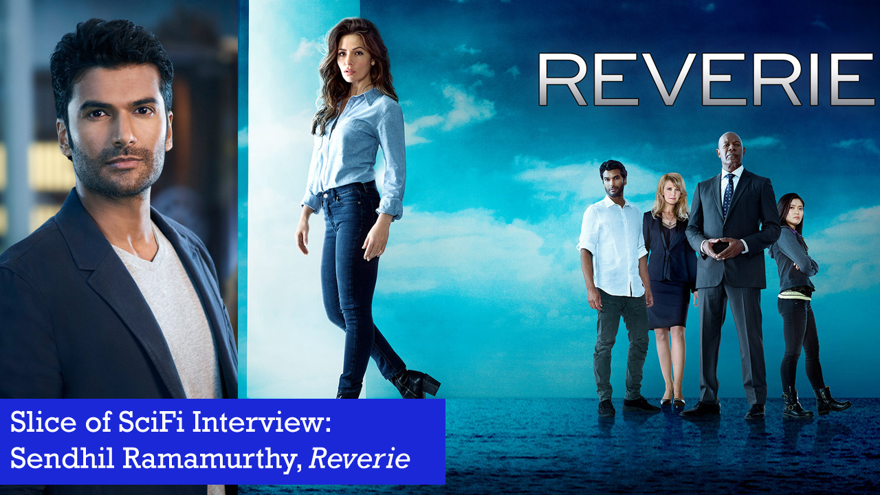 "Sendhil Ramamurthy on the Mysteries of ""Reverie"" Where dreams, technology, secrets and the subconscious intersect"