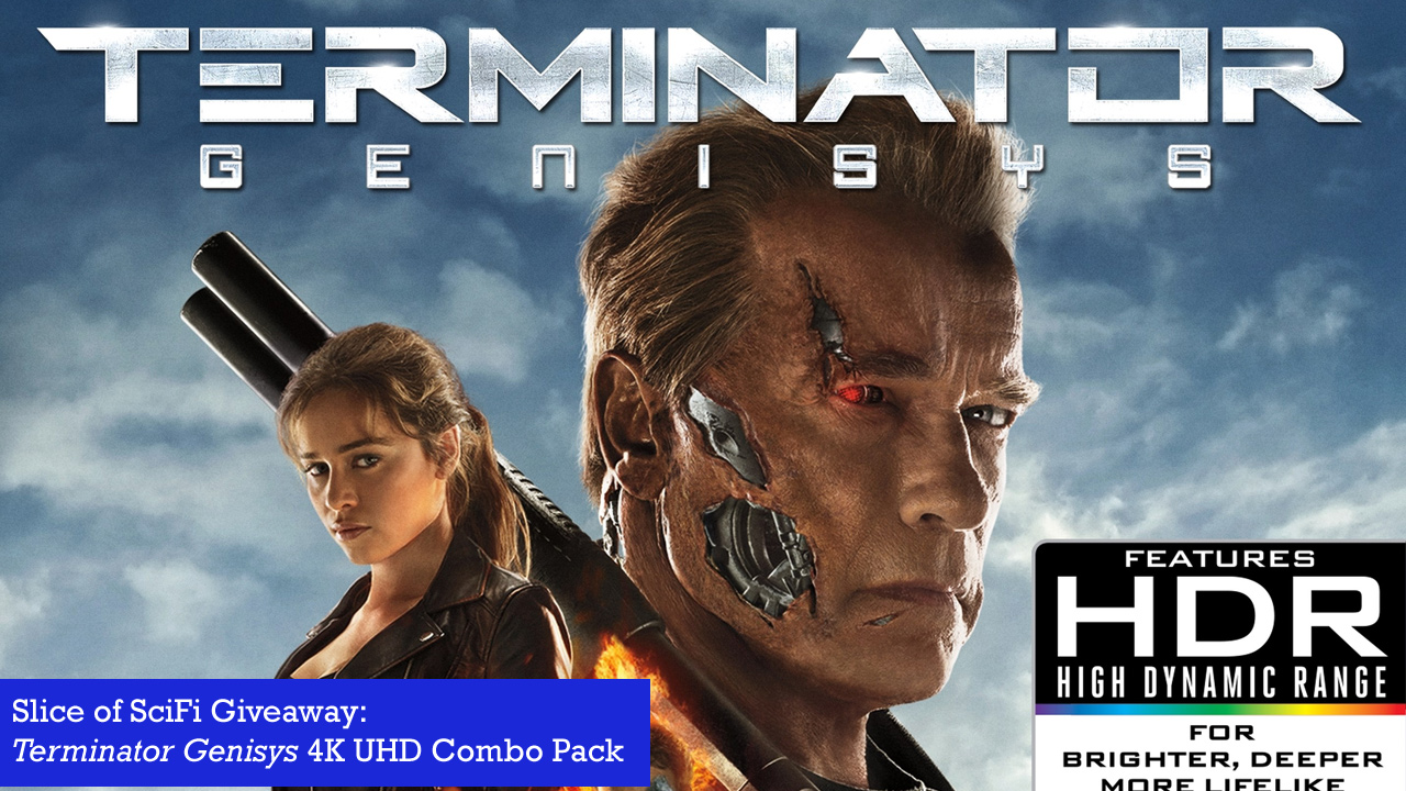 "Win a 4K UHD Copy of ""Terminator Genisys"" Two lucky listeners have a chance to win"