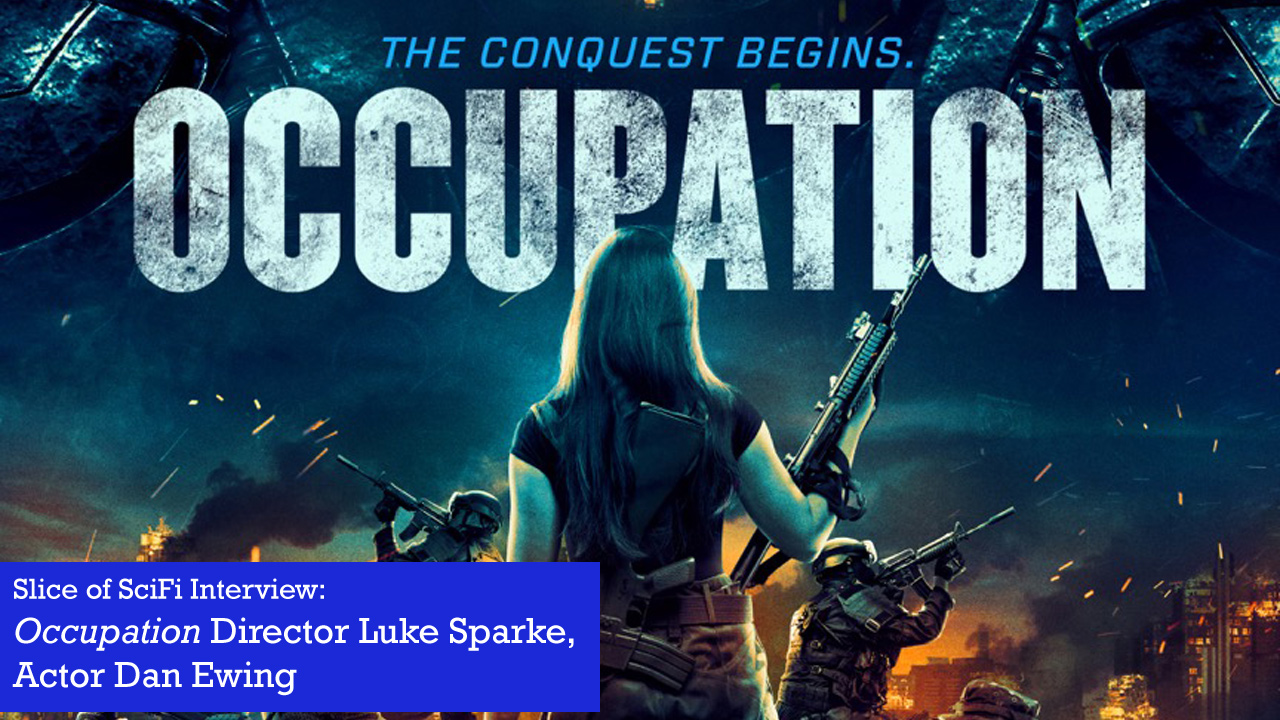 "Indie Movie Talk: ""Occupation"" The writer/director and lead actor talk about their new alien invasion action film"