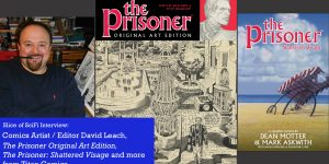 Slice of SciFi 853: The Prisoner Kirby/Kane Art Edition