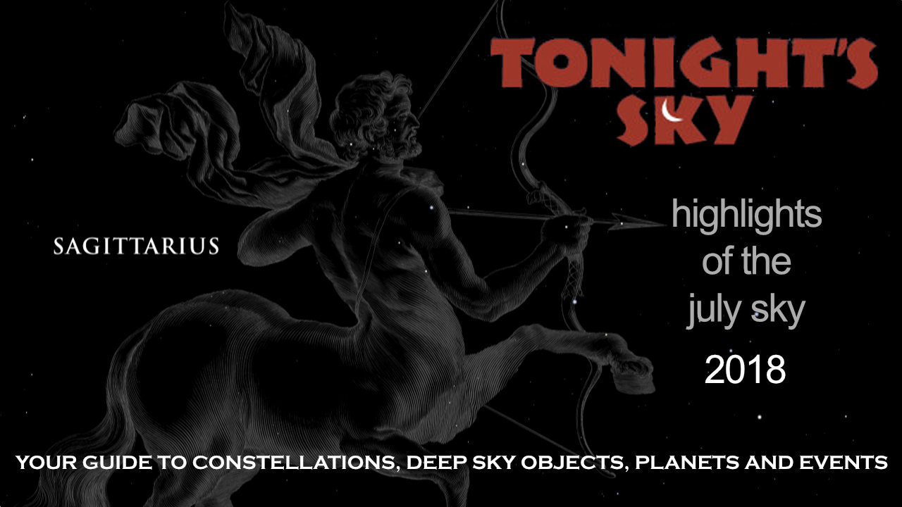 Tonight's Sky: July 2018 Video Guide