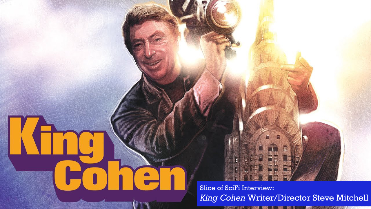 """King Cohen"" Director Steve Mitchell The award-winning documentary about Larry Cohen's prolific career"
