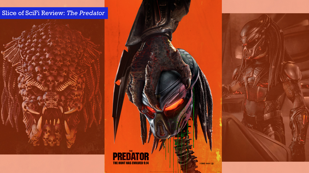 """""""The Predator"""" misses on all points that matter in a movie Not funny. Not exciting. Not for scifi fans."""