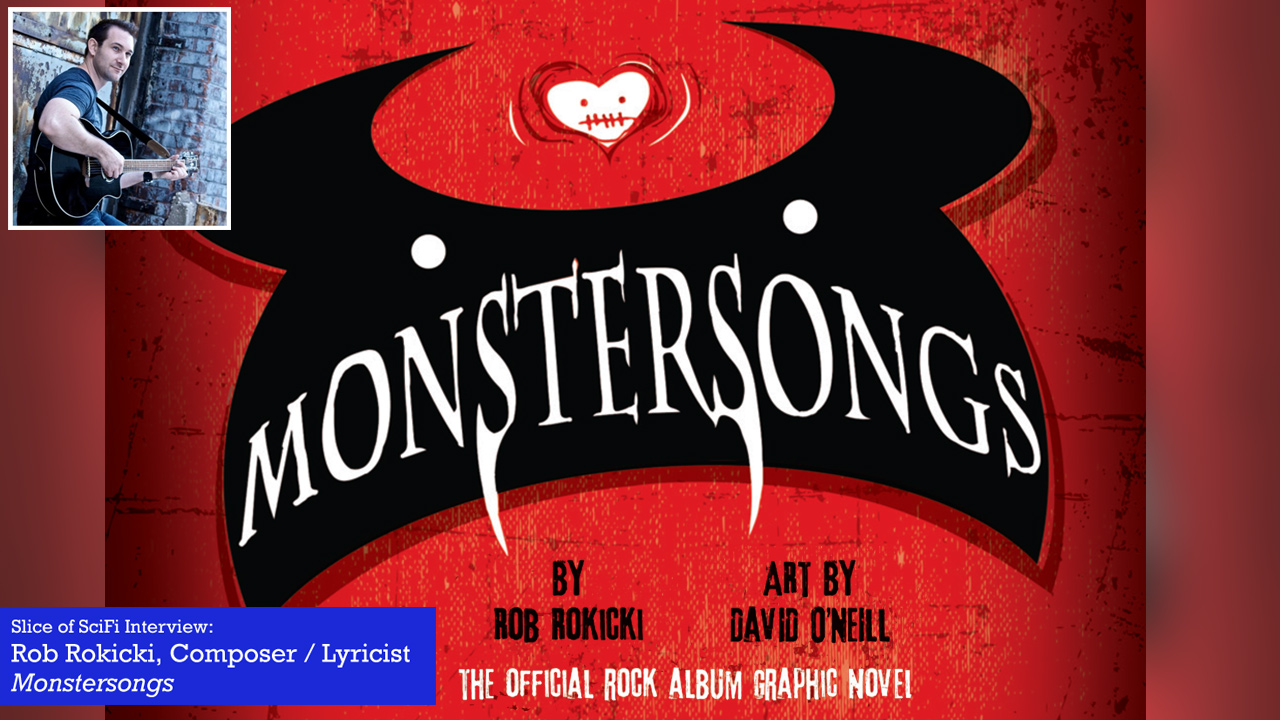"Monstersongs: Rob Rokicki talks monsters and musicals The newest project from the composer of ""The Lightning Thief"" musical"