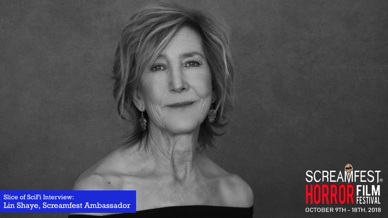 Screamfest Special: Lin Shaye The actor is headlining the horror film festival as this year's ambassador