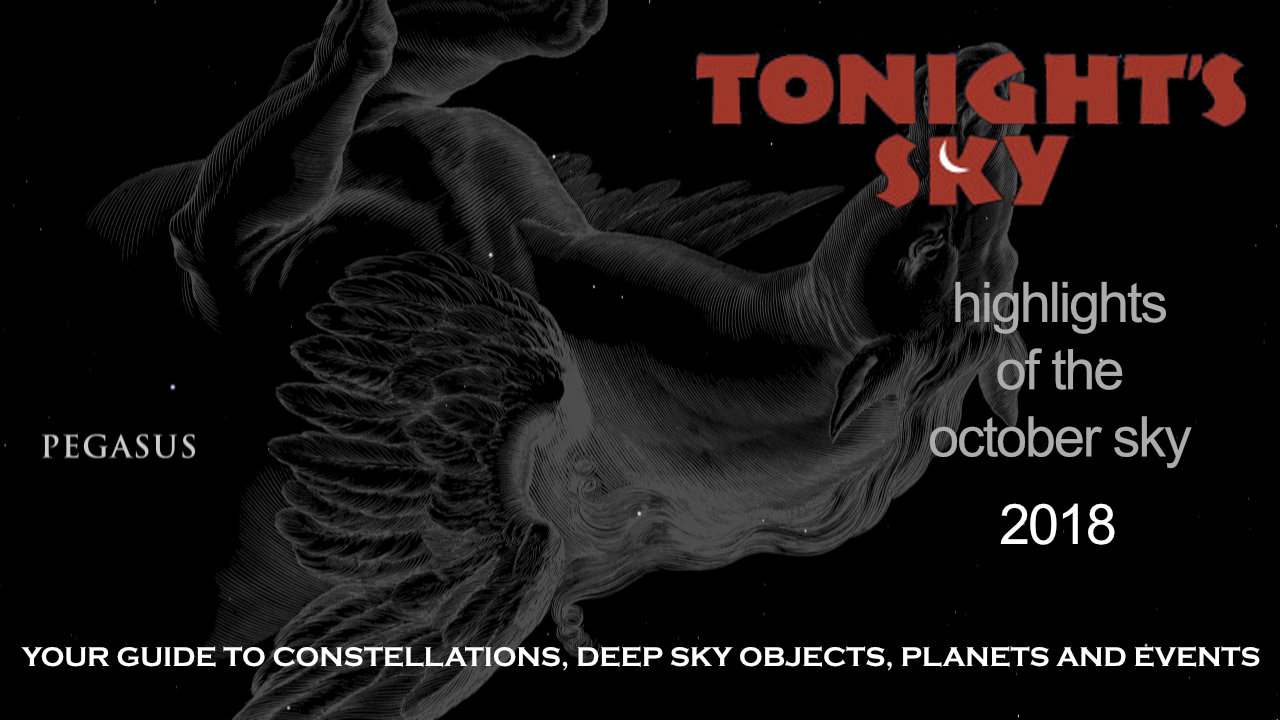 Tonight's Sky: October 2018 Video Guide