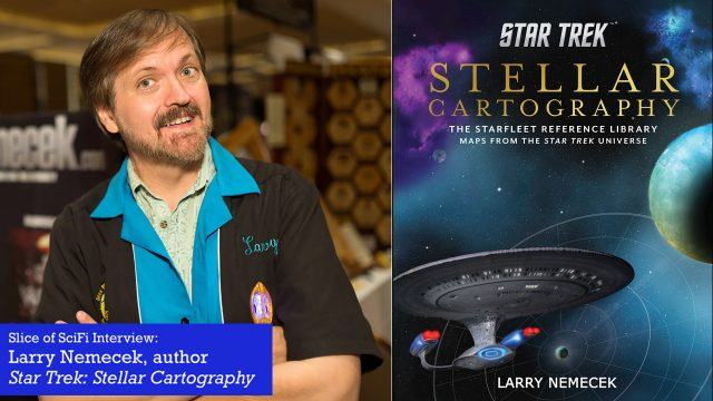 "<span class=""entry-title-primary"">Larry Nemecek on ""Star Trek: Stellar Cartography""</span> <span class=""entry-subtitle"">The noted Star Trek archivist talks star charts, reference materials and more</span>"