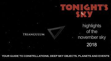 Tonight's Sky: November 2018