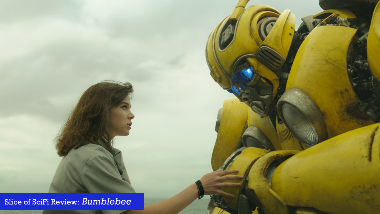 """Bumblebee"" delights in the way Transformers movies always should have A retro 80s soundtrack, a real human-robot connection, with great robot battles"