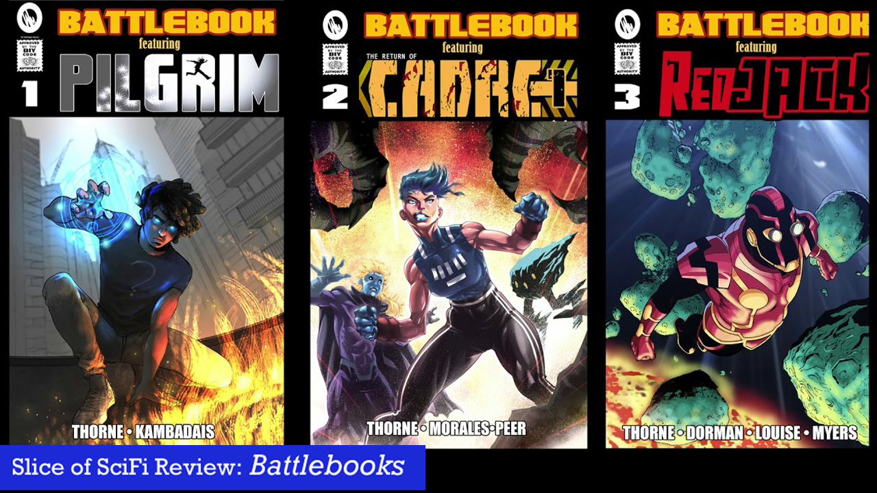 """Battlebooks"": Review of the Showdown Three comics enter. One comic lives."