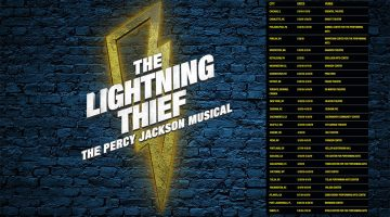 The Lightning Thief Musical tour