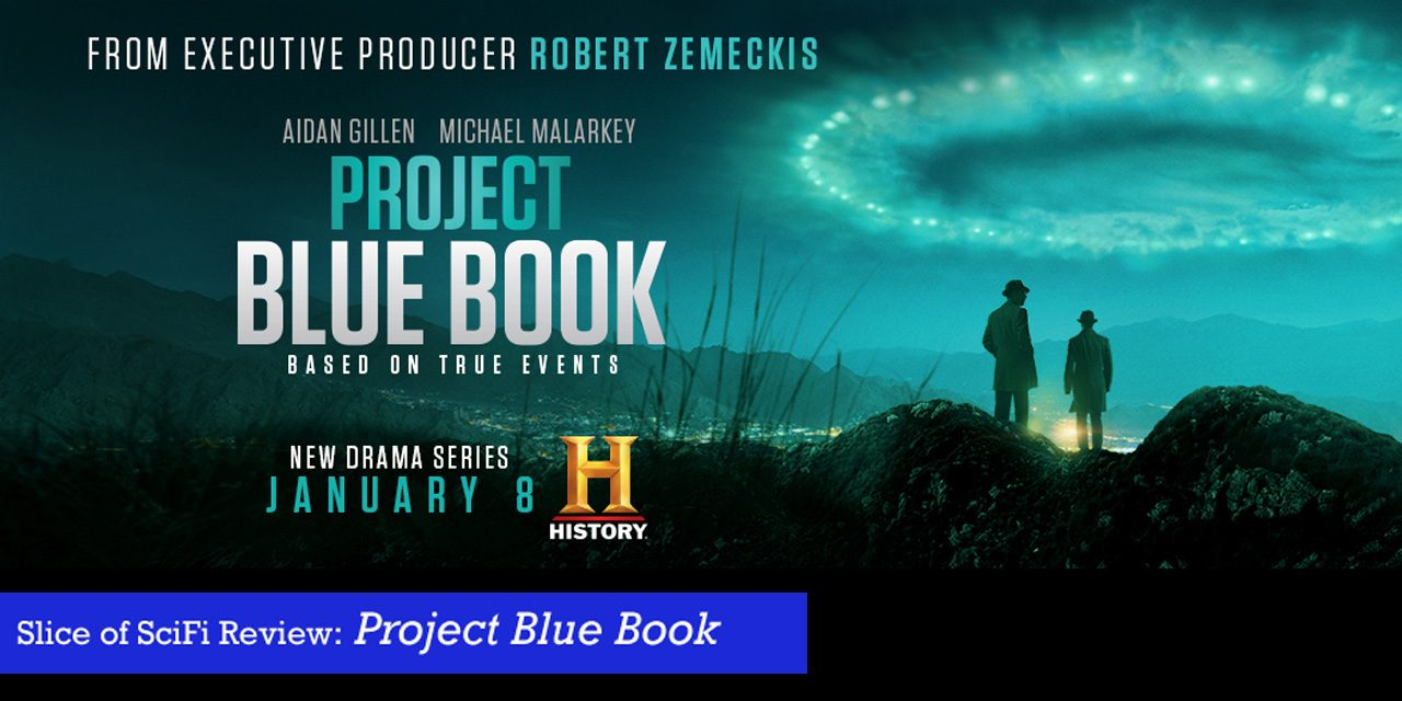 """Project Blue Book"" explores the threads of UFO reports History Channel presents an engaging view of the Air Force's UFO investigations"
