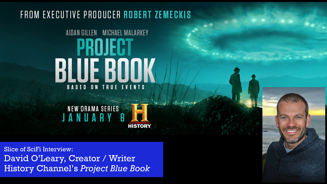 """Project Blue Book"": David O'Leary on searching for UFOs The story of the investigations of Dr. J. Allen Hynek inspire others to continue searching"