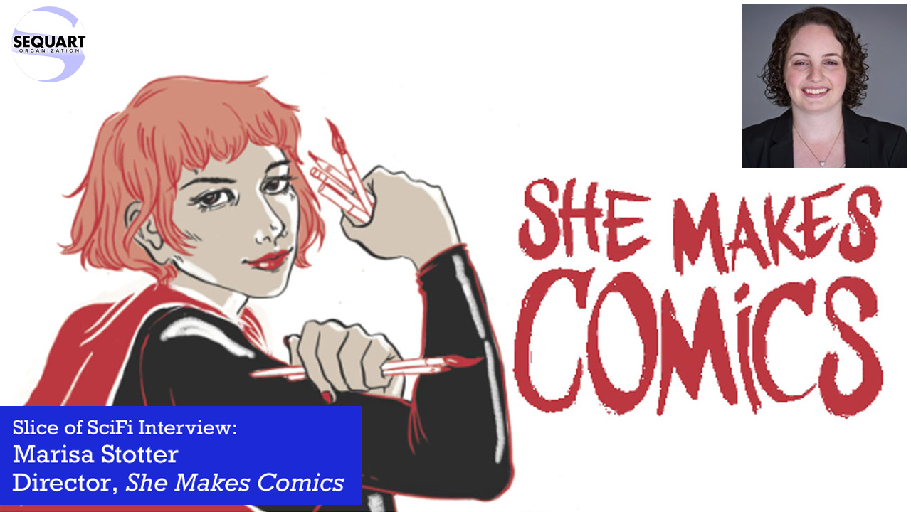 """She Makes Comics"" Director Marisa Stotter Taking a step to open more doors to more comics"