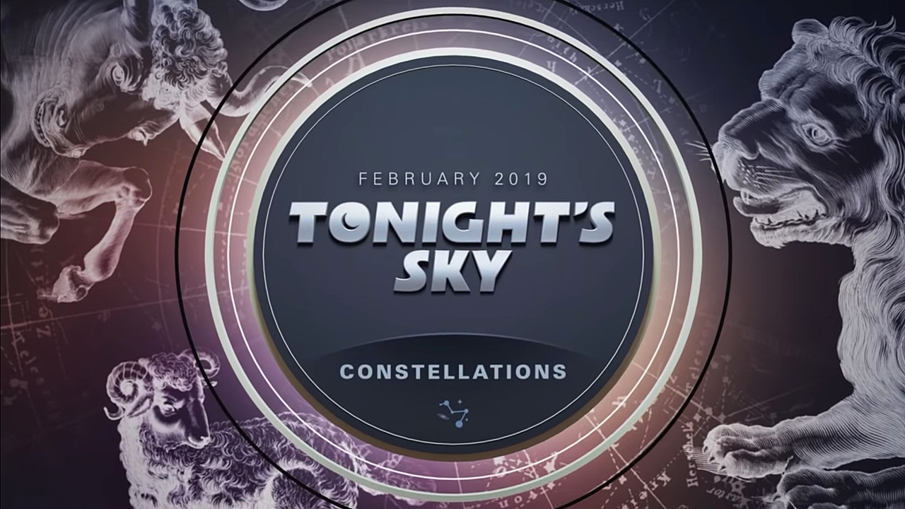 Tonight's Sky: February 2019 Video Guide