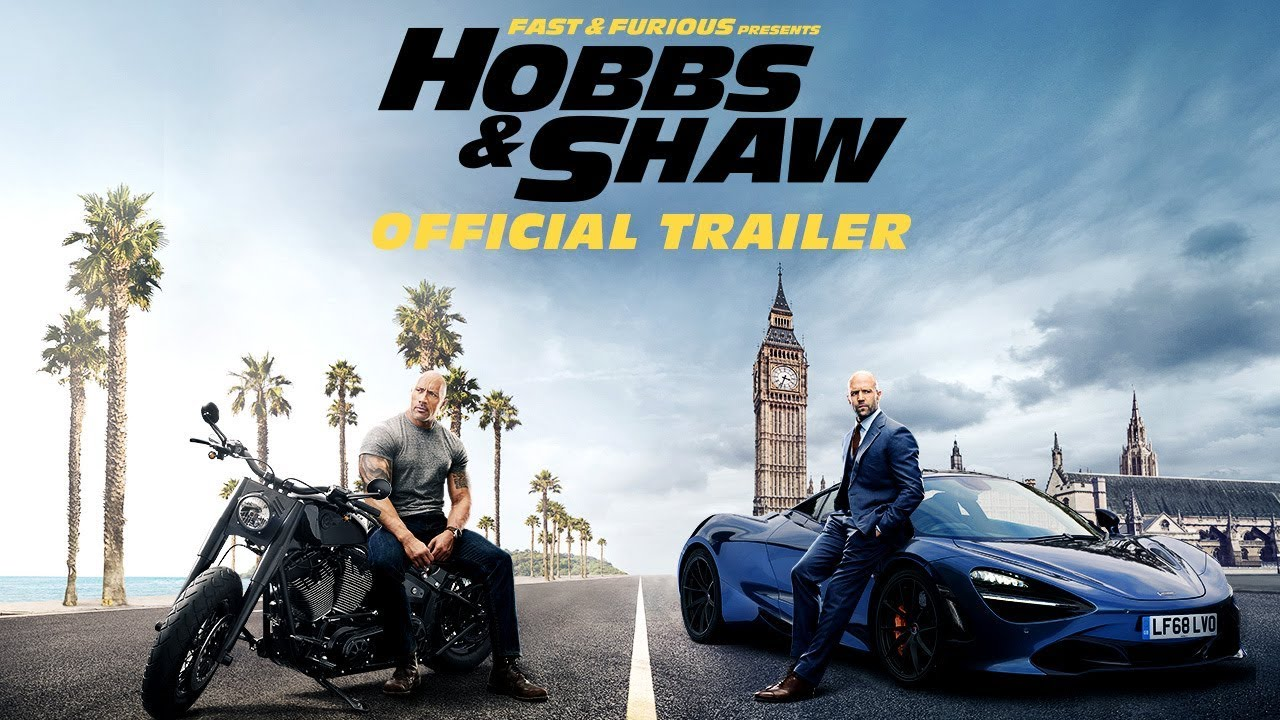 "First Look: ""Hobbs & Shaw"" The debut trailer for the first film from ""Fast & Furious Presents"" is here"