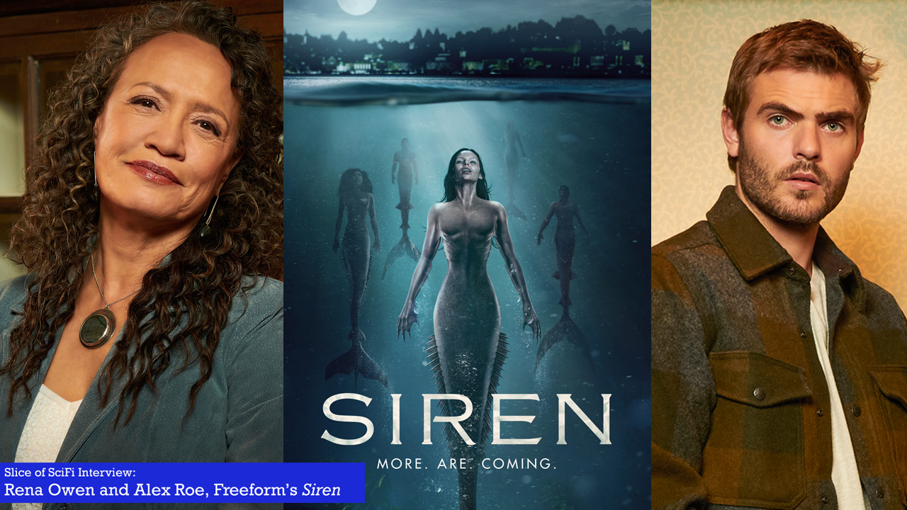 "TV Talk: ""Siren"" stars Rena Owen and Alex Roe Talking about family, mermaids and mysteries"