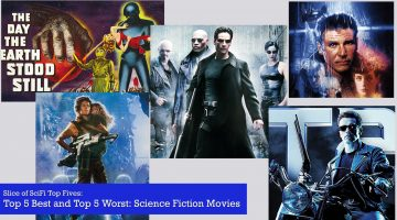 Slice of SciFi: Top 5 SF Movies
