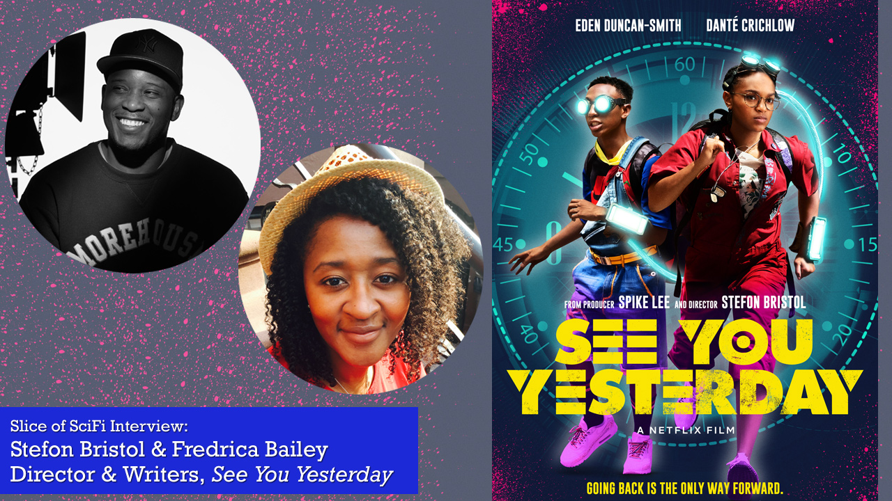 """See You Yesterday"": Filmmakers Stefon Bristol and Fredrica Bailey Science Fiction as a mirror on society and the stories that shine harsh lights"