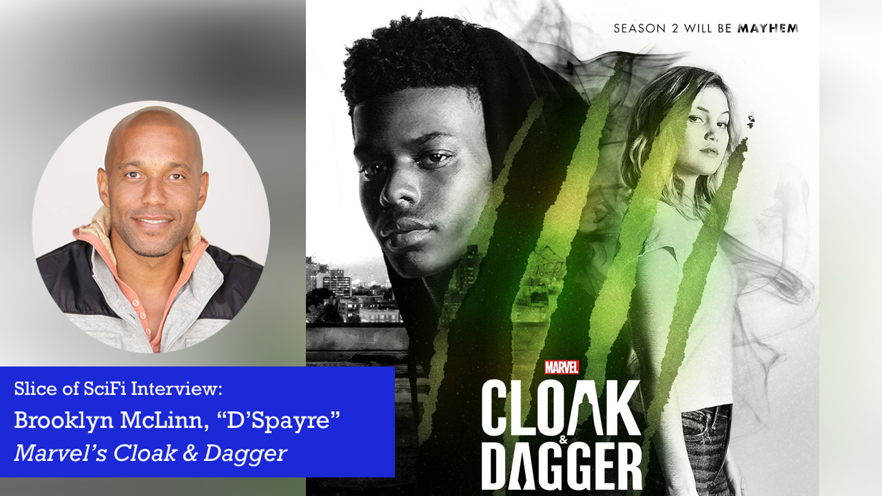 """Cloak & Dagger"": D'Spayre by Brooklyn McLinn On causing pain in others to distract you from your own pain"