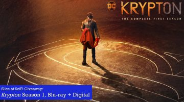 Slice of SciFi Krypton S1 giveaway