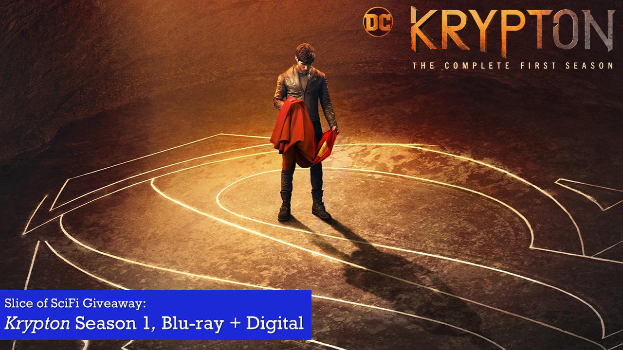 """Contest: """"Krypton"""" Season 1 Blu-ray Giveaway Are you watching Syfy's Superman prequel?"""