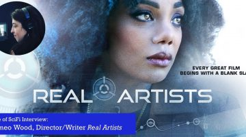 Slice of SciFi 894: Cameo Wood, Real Artists