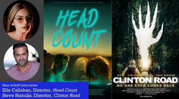 Slice of SciFi 895: Head Count, Clinton Road