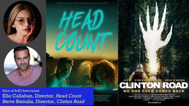 Slice of SciFi 895: Head Count, Clinton Road